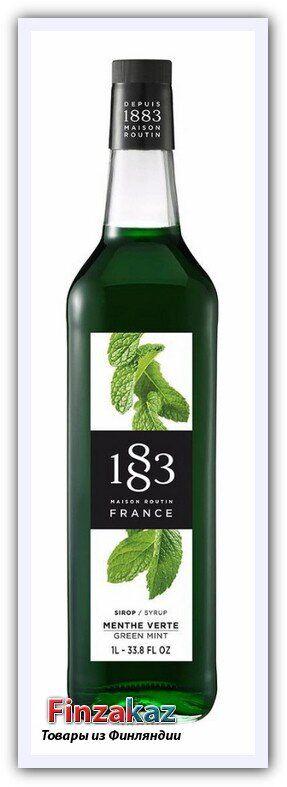 "Сироп 1883 Maison Routin ""Зеленая мята"", 1 л"