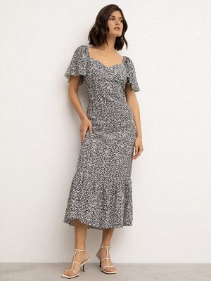 Платье с принтом PL1153/kaleid