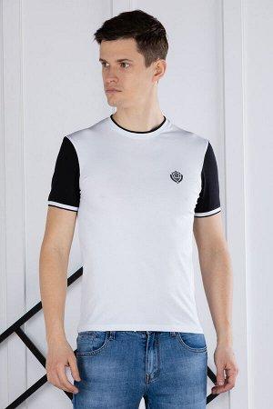 футболка              17.Y21-000051-BEYAZ-SIYAH