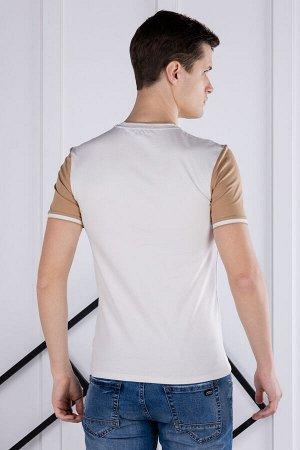 футболка              17.Y21-000051-BEJ-KAHVE