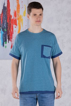 футболка              17.9235-PETROL-MAVI