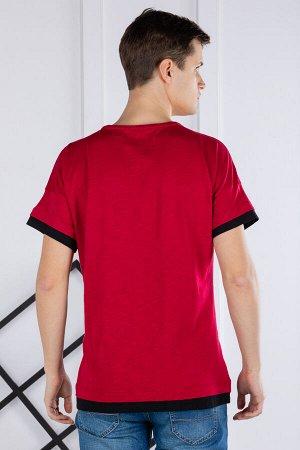 футболка              17.9207-BORDO