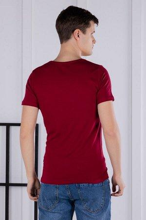футболка              17.1001-BORDO-03