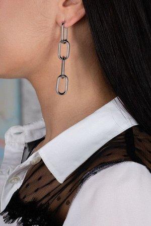 Серьги Модель: серьги. Цвет: серебряный. Комплектация: серьги. Состав: металл.