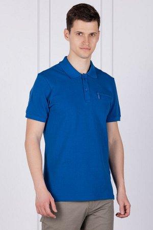 Футболка Модель: поло. Цвет: синий. Комплектация: футболка. Состав: хлопок-100%. Бренд: SAMO. Фактура: однотонная.