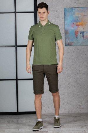 Шорты Модель: классические. Цвет: хаки. Комплектация: шорты. Состав: хлопок-98, эластан-2%. Бренд: MUZZO. Фактура: однотонная.