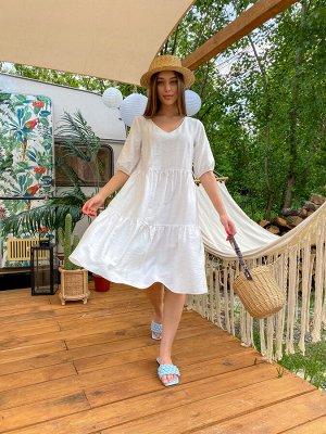 Шерити Grand платье белый