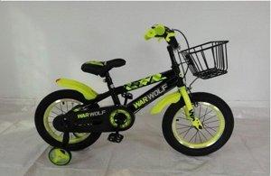 """Велосипед 12"""" (на рост 98-104 см.) цв. зеленый, арт. 12-05"""