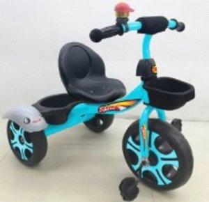 Велосипед 3-х колесный c  багажником,цв. в ассорт.
