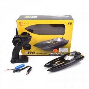 Катер р/у на аккум.,4 канала, USB шнур,кор. 28,5*8,5*17 см