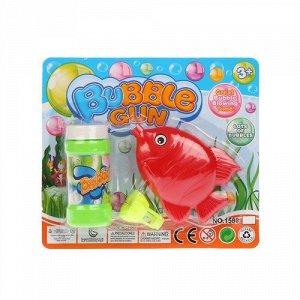 Мыльные пузыри мех. Рыбка , 50 мл., 17*15*4 см