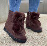 Ботинки Артикул: PNH56 (РАСПРОДАЖА) Зимние. Маломерят. Размер 37