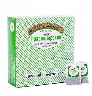 Чай зеленый классический Отборный «Мацеста чай» в фильтр-пакетах 100шт