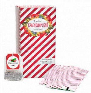Чай черный классический Отборный «Мацеста чай» в фильтр-пакетах 25шт