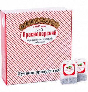 Чай черный классический Отборный «Мацеста чай» в фильтр-пакетах 100шт