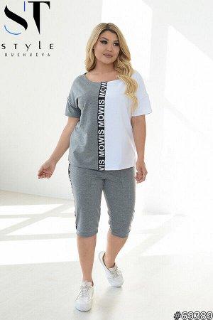 Костюм 69389 (футболка+шорты)