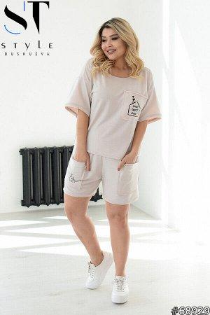 Костюм 68929 (футболка+шорты)