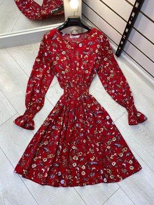 Платье Принт отличается, реальное фото ниже. Идет в размер.