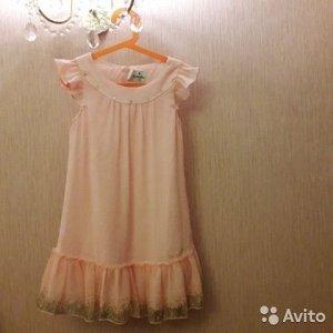 Платье нарядное Корея 134 см Новое