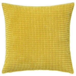 GULLKLOCKA ГУЛЛЬКЛОКА Чехол на подушку, желтый50x50 см