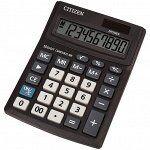 Калькулятор настольный Citizen Business Line CMB1001-BK, 10 разрядов, двойное питание, 102*137*31мм, черный