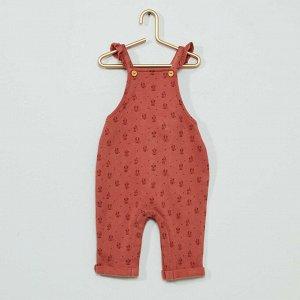 Комбинезон и футболка 'Минни Маус' Eco-conception - розовый