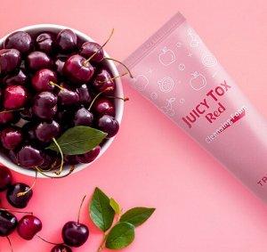 Очищающая пенка на основе красного комплекса экстрактов фруктов  Juicy Tox Red Cleansing Foam
