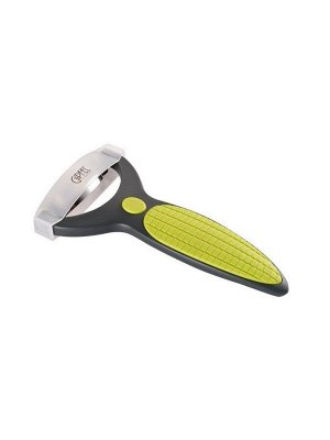 9918 GIPFEL Нож для чистки кукурузы AXUDAR 15х8см с покрытием Материал: AS+PP+TPR+S/S2cr13, цвет светло-зеленый