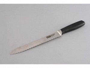 6886 GIPFEL Нож хлебный PROFILO 20 см (углеродистая сталь X30Cr13)