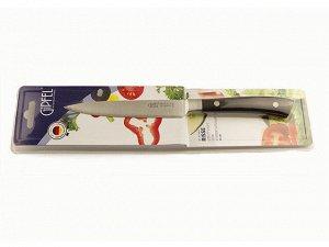 9870 GIPFEL Нож универсальный RISSE 13см. Материал лезвия: нерж. сталь 3Cr13. Материал ручки: пластик. Толщина: 1,8мм