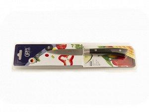 9871 GIPFEL Нож для чистки овощей RISSE 9см. Материал лезвия: нерж. сталь 3Cr13. Материал ручки: пластик. Толщина: 1,8мм