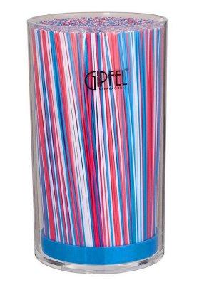 3706 GIPFEL Подставка для ножей 10,3х10,3х18см Материал: Arylic, PP