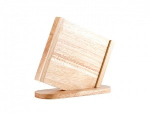 8472 GIPFEL Подставка под ножи, 5 отделений. Материал: каучуковое дерево, акрил
