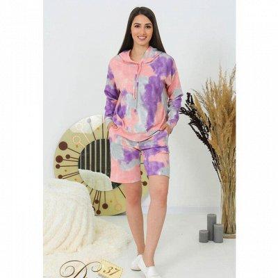 DRESS37 - доверяем трикотажу! От 42 до 66 размера — Костюмы с шортами