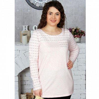 DRESS37 - доверяем трикотажу! От 42 до 66 размера — Блузки