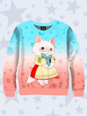 Свитшот Кошечка в платье