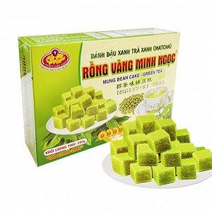 Халва из маша с матчей Вес: 280гр« Rong Vang Minh Ngoc»