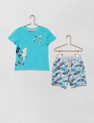Шорты и футболка 'Микки Маус' от 'Disney'
