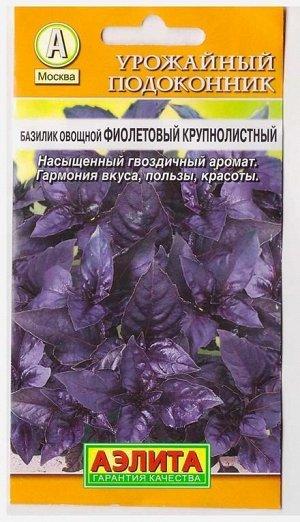 Базилик Фиолетовый крупнолистный (Код: 6525)