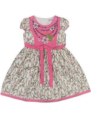 Платье для девочки BK363P розовый