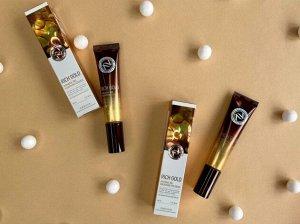 Питательный крем для век с золотом Rich Gold Intensive Pro Nourishing Eye Cream