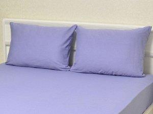 Комплект наволочек на молнии 70х70 Серо-голубой