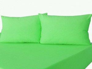 Комплект наволочек на молнии 70х70 Зеленое яблоко