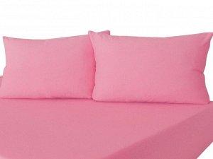 Комплект наволочек на молнии 70х70 Розовый