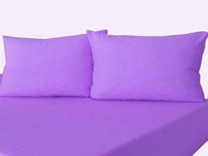 Комплект наволочек на молнии 70х70 Фиолетовый