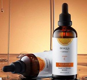 Bioaqua сahnsai vitamin c essence сыворотка для лица с витамином С, 100 мл