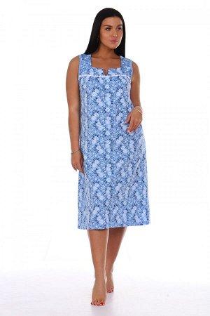 Сорочка Ира (Голубой)