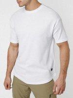 Однотонная футболка белого цвета 221063Bl