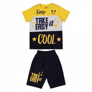 Комплект для мальчика BK1481FSH желтый