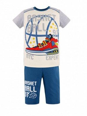 Комплект для мальчика BK1479FSH джинсовый